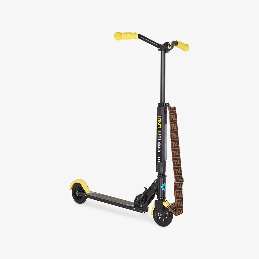 JUS009 AF1F / F1DPZ YELLOW / FENDI JUNIOR MICRO SCOOTER