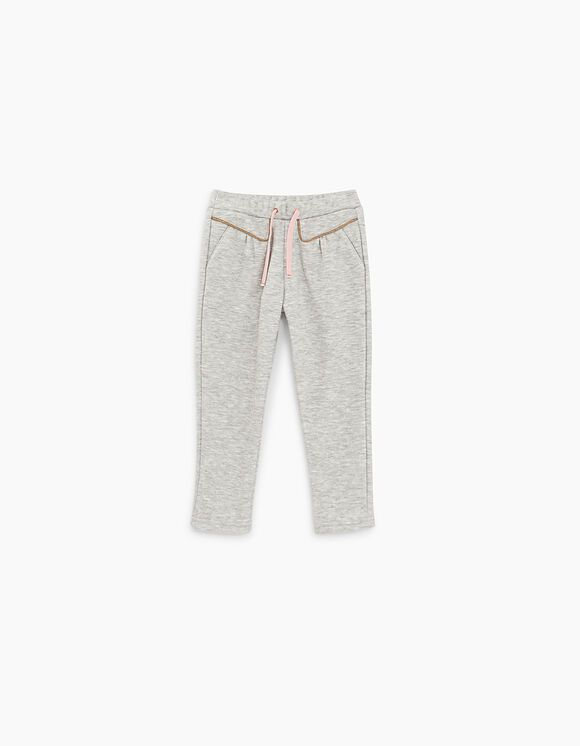 XR23030 / 24 GREY / Baby Girl Sweatpants