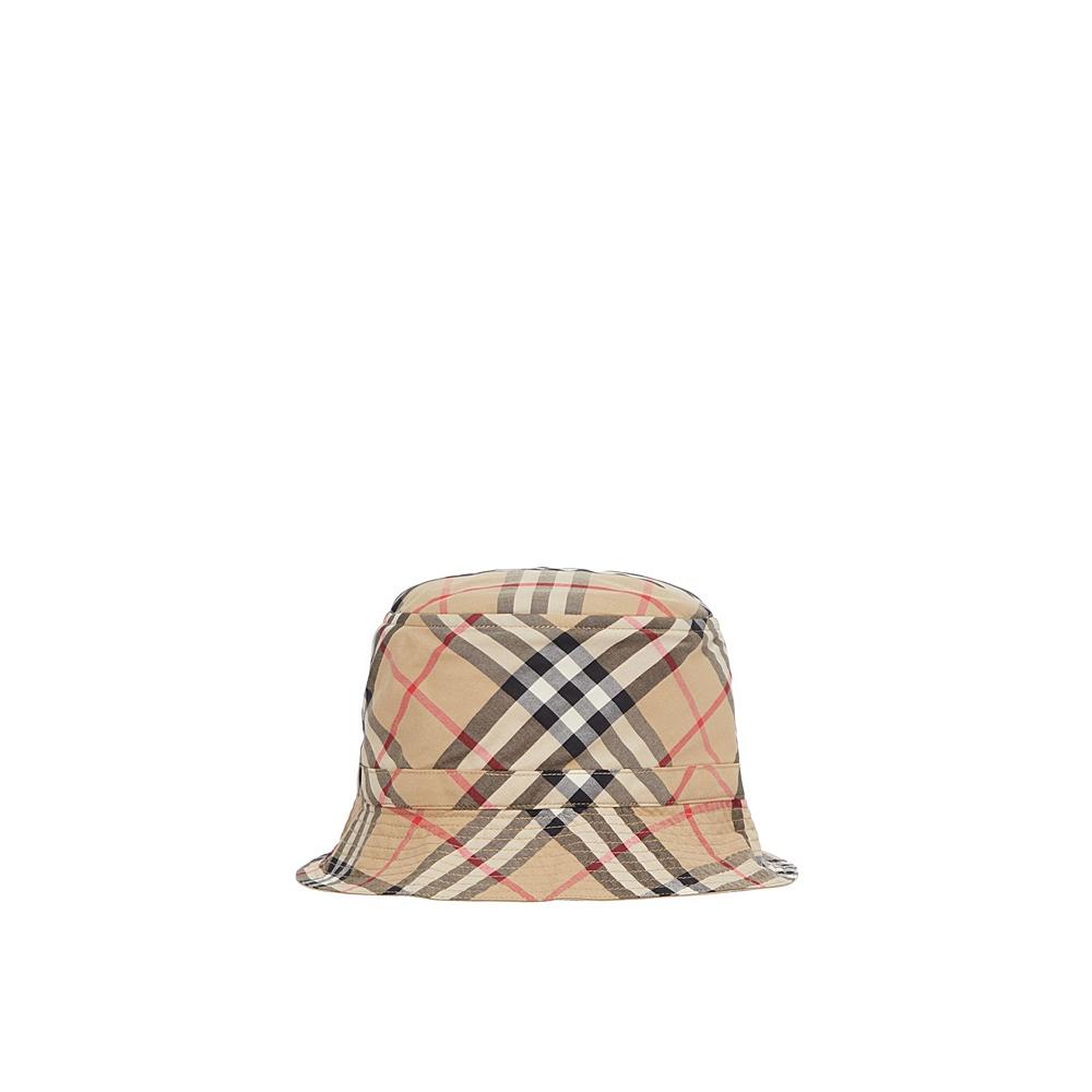 8041438 / ARCHIVE BEIGE / BURBERRY GABRIEL CHK HAT