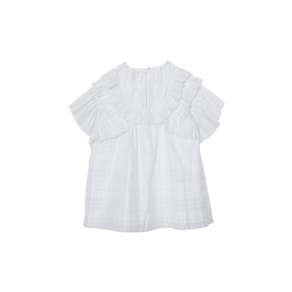 8038341 WHITE IP CHECK DRESSES BURBERRY