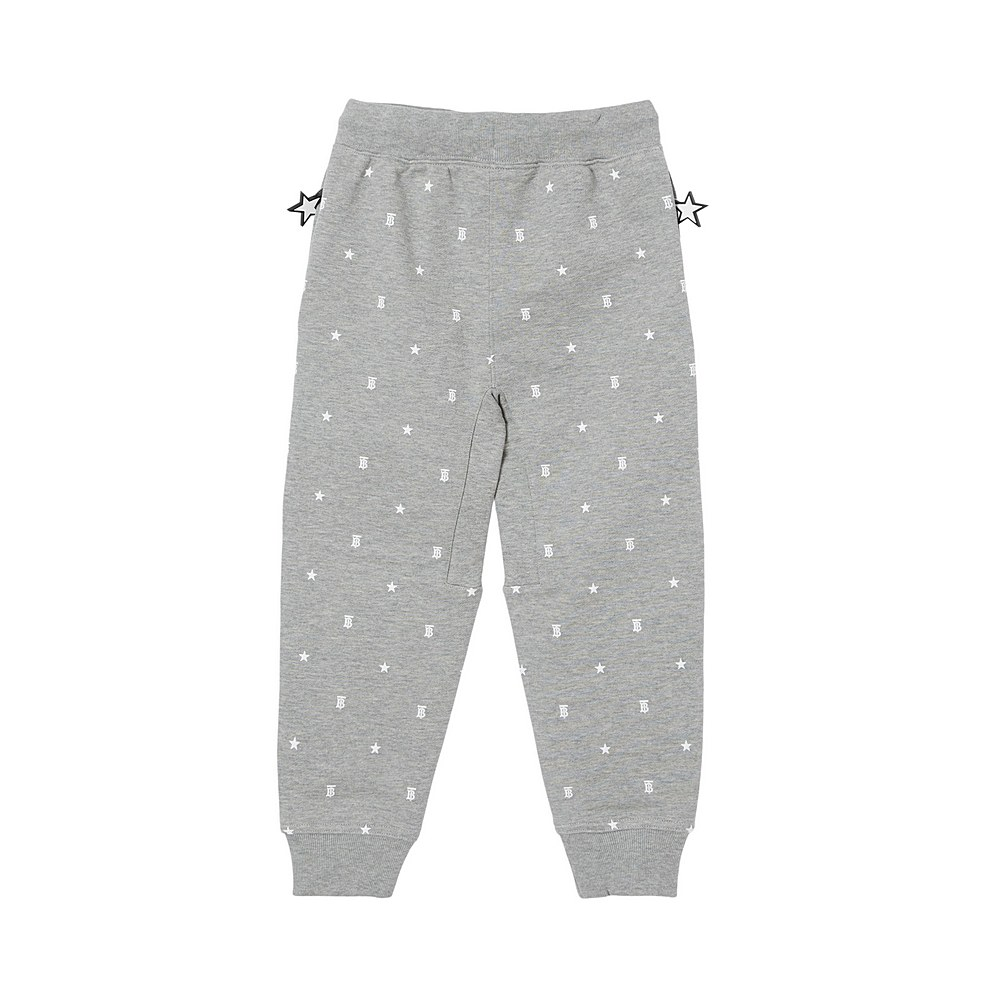 8038509 / GREY IP PTTN / BURBERRY GREGORY STAR JOGGER