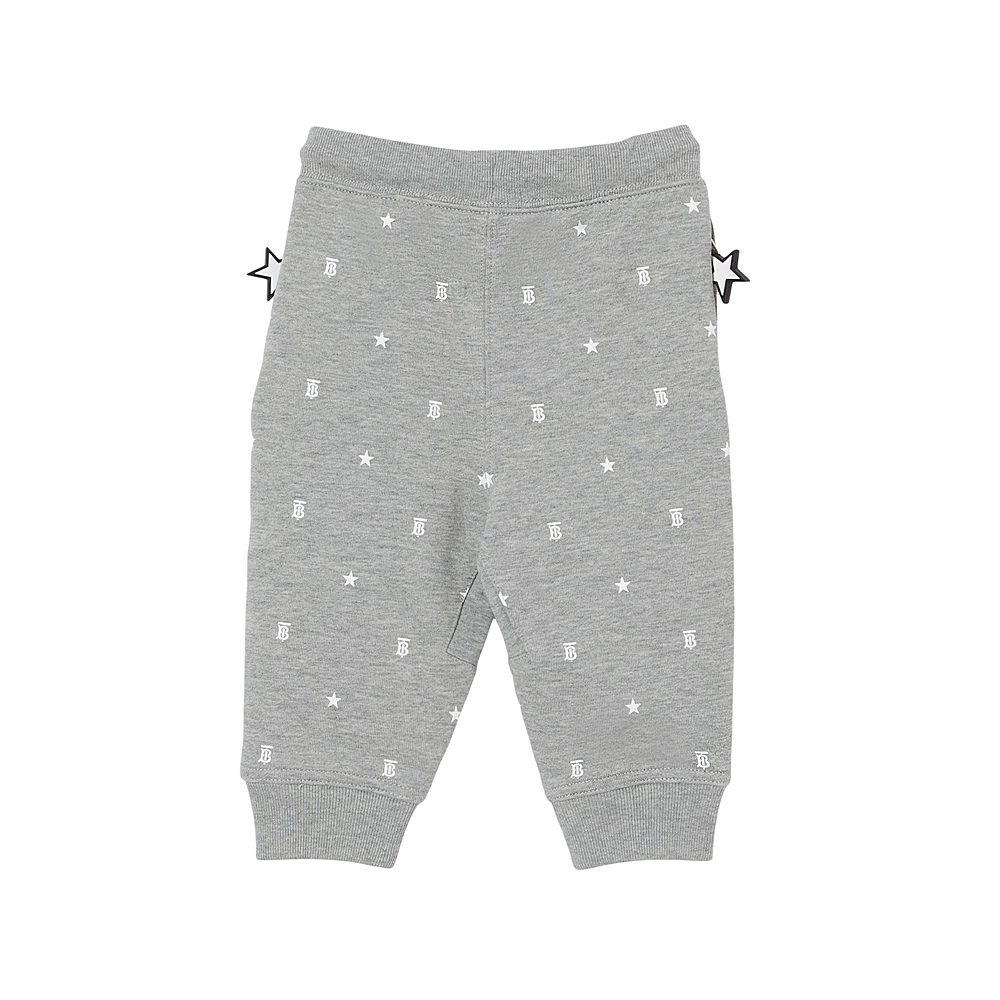 8038507 / GREY IP PTTN / BURBERRY GREGORY STAR JOGGER