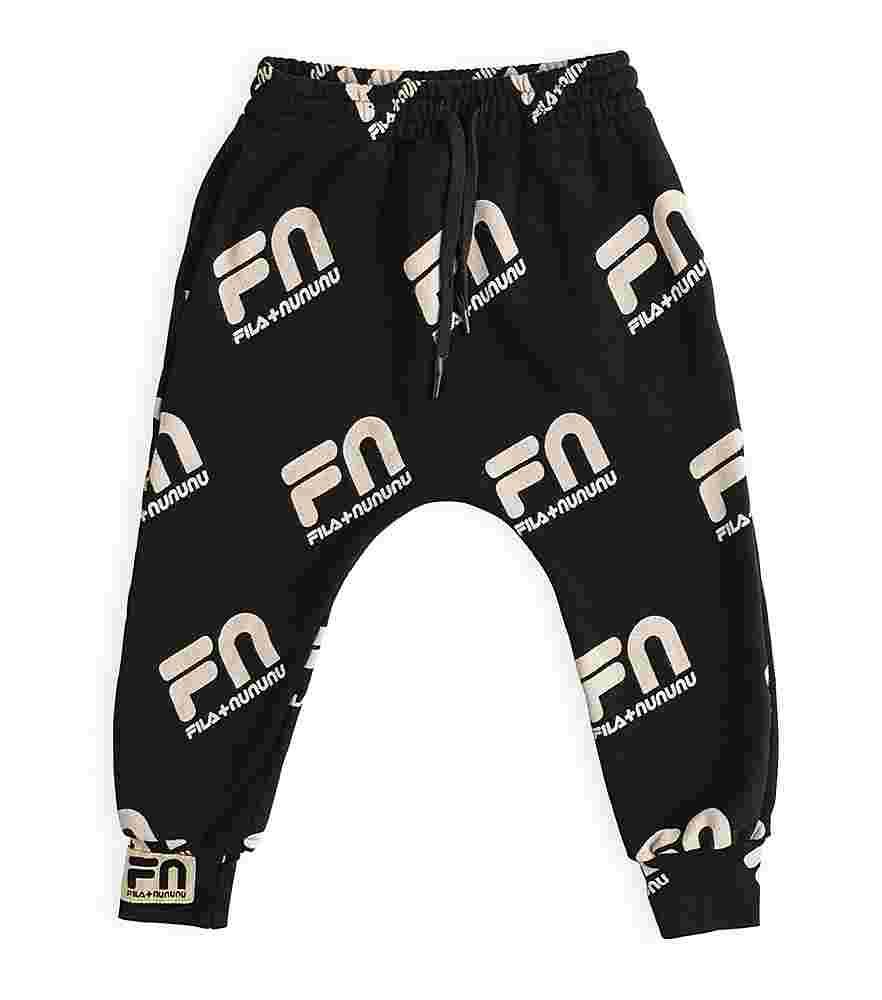 NF012A NF013A BLACK PANTS NUNUNU BOTTOMS