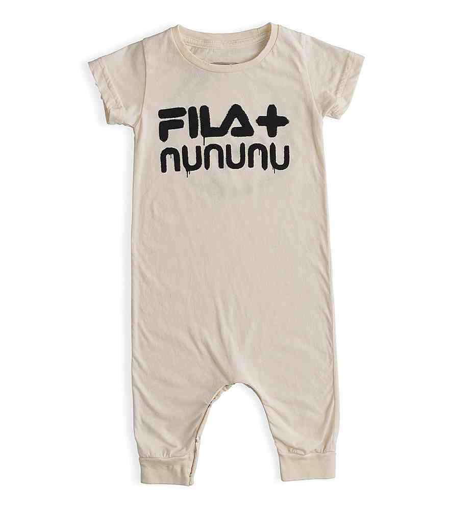 NF028 NF032. / NATURAL / Fila X Nununu Tennis Playsuit