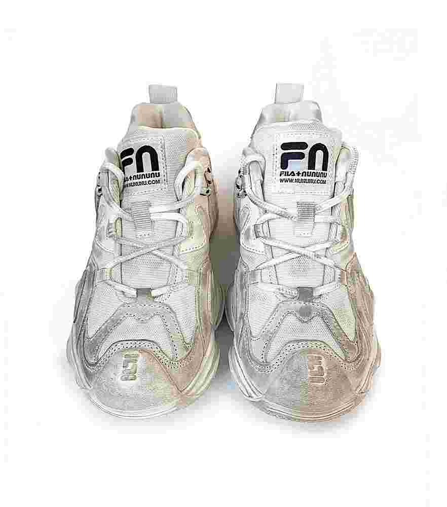 NF038 NF048 WHITE NUNUNU SHOES