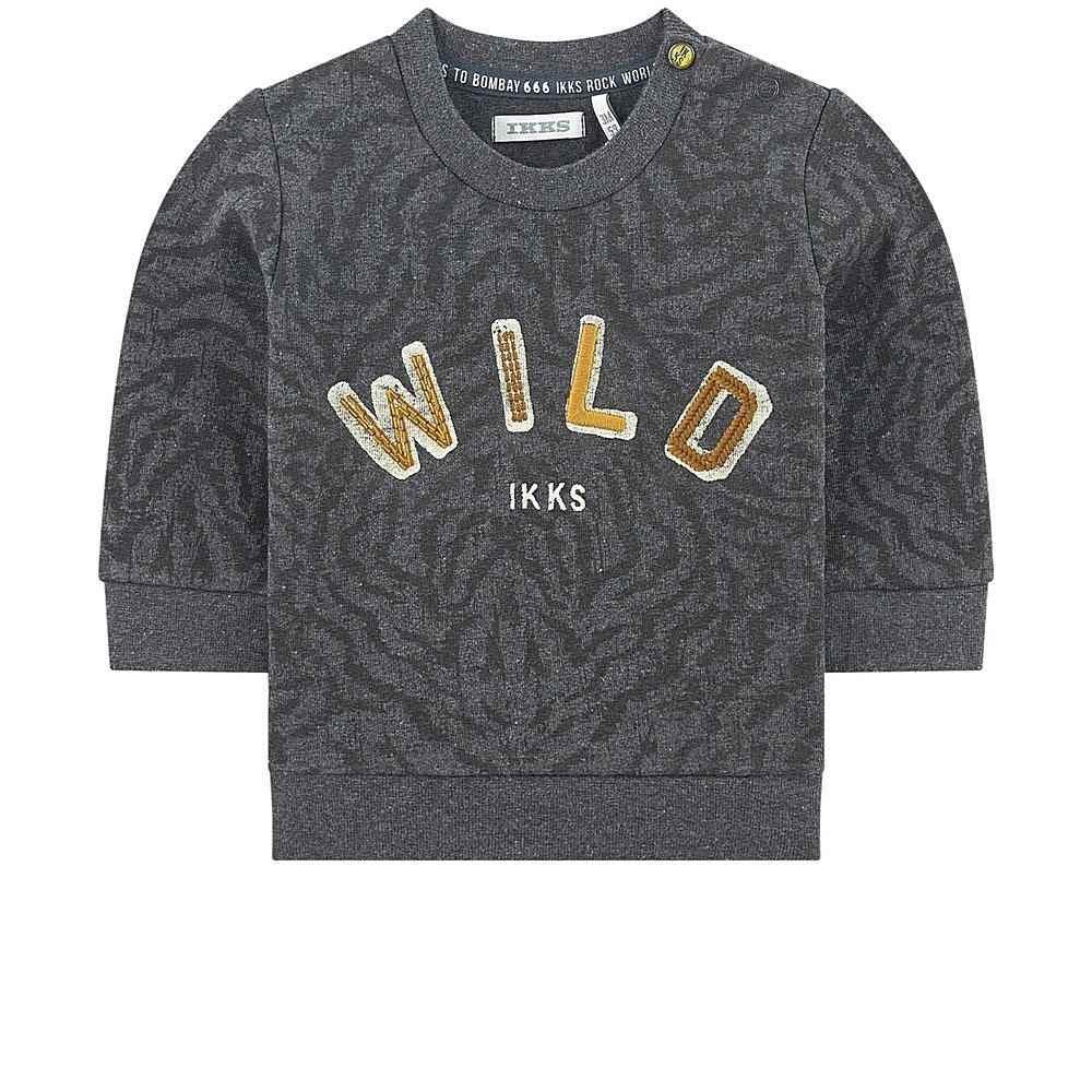XR15001 / 28 GREY / Baby Boy Wild Sweatshirt