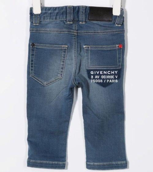 H04116 / Z06 STONE WASH / Denim Trousers