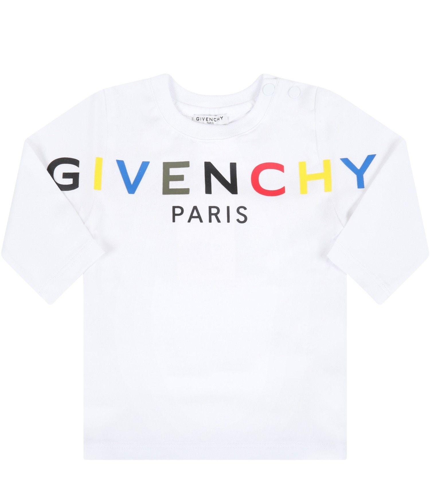 H05184 / 10B WHITE / Longsleeve T-Shirt