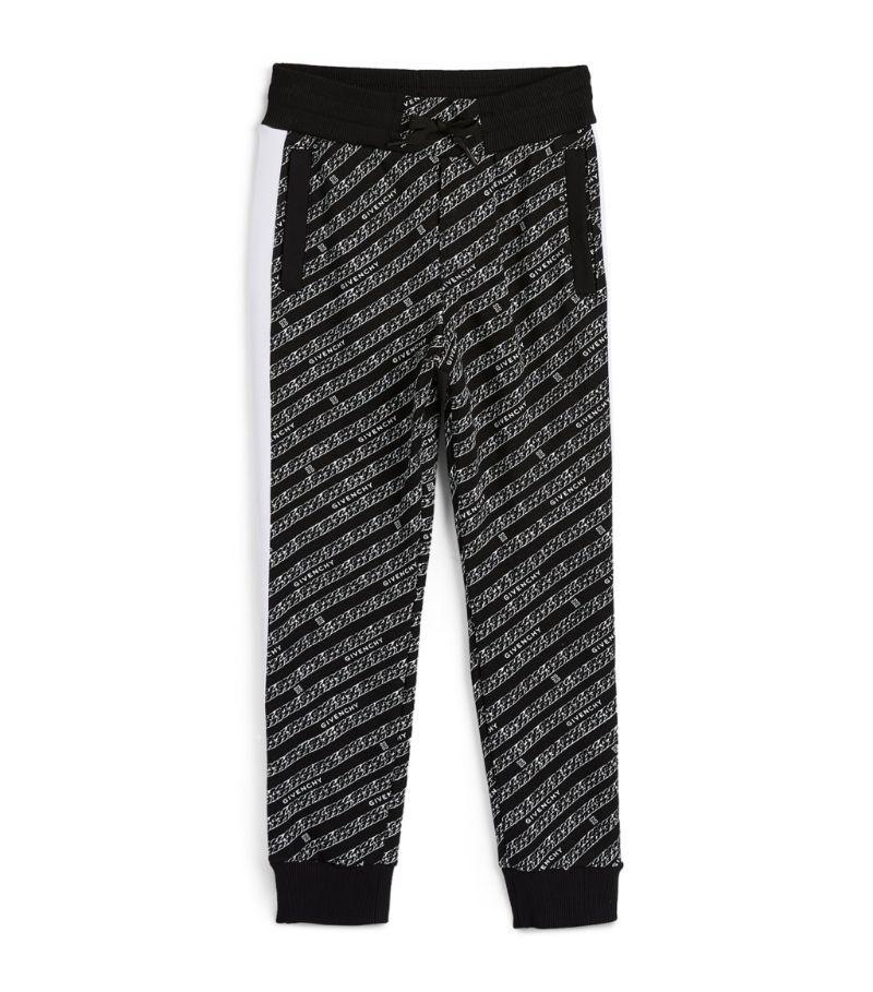 H24137 M41 BLACK WHITE PANTS GIVENCHY SETS BOTTOMS