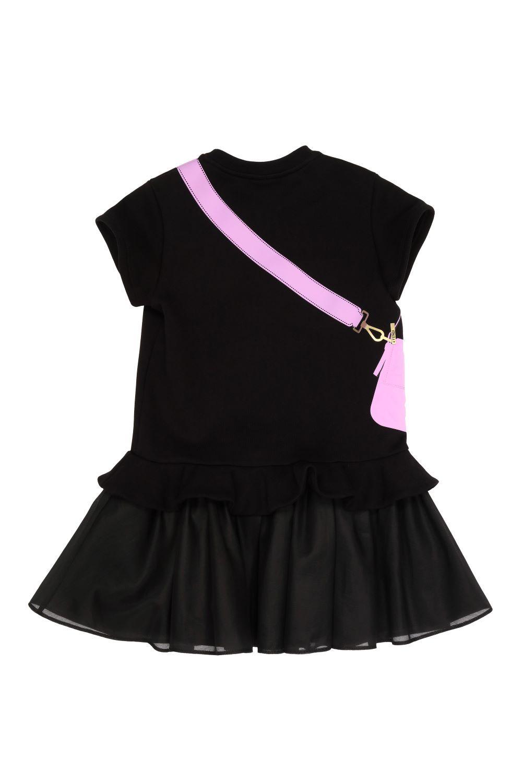 JFB382 BLACK FENDI DRESSES