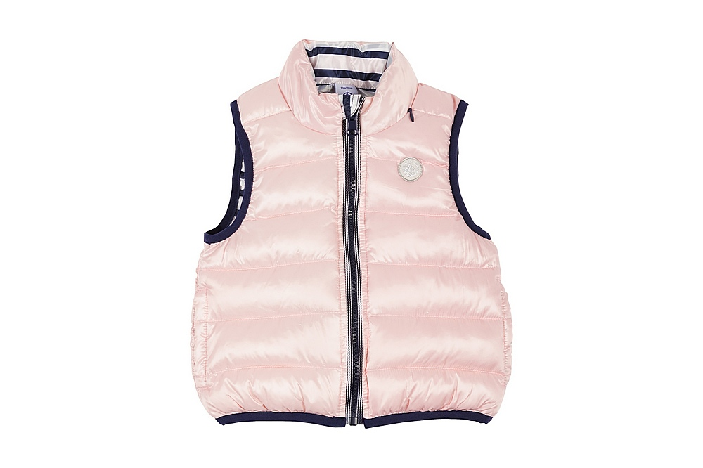 56139 LAZUR / 02 PINK / Baby Quiled Vest