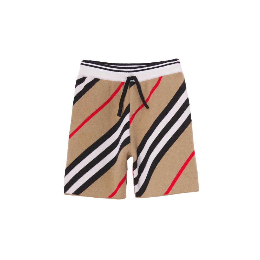 8040927 / ARCHIVE BEIGE I / BURBERRY REGINALD KNITTED SHORTS