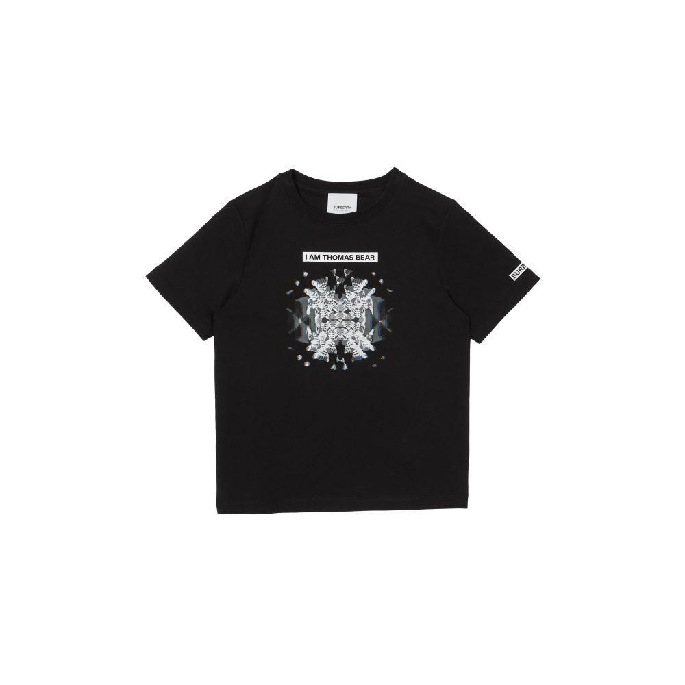 8041225 / BLACK / BURBERRY KALEIDO BOY BEAR TSHIRT