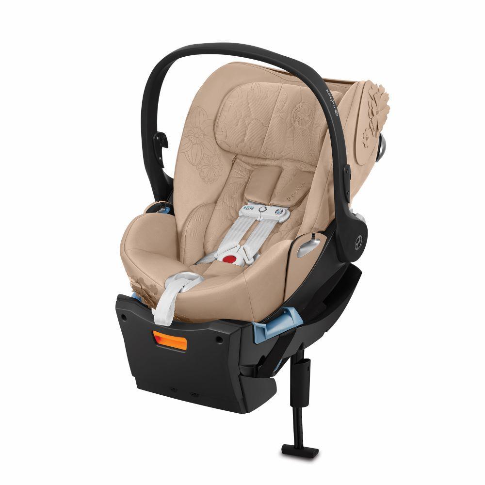 521001301 / NUDE BEIGE / Cybex Cloud Q Car Seat- Simply Flowers