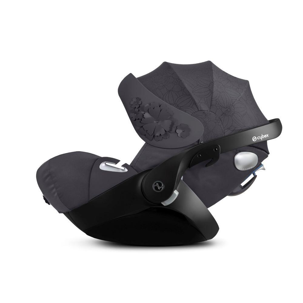 521001303 / DREAM GREY / Cybex Cloud Q Car Seat- Simply Flowers