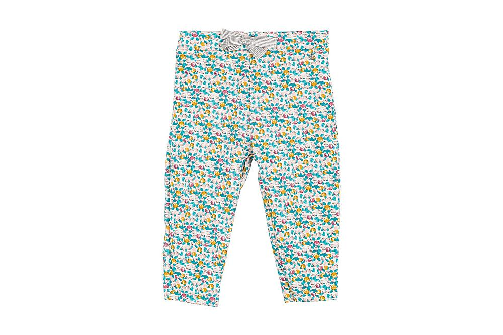 56265 LEGERE / 01 MULTI / Baby Girl Floral Pants