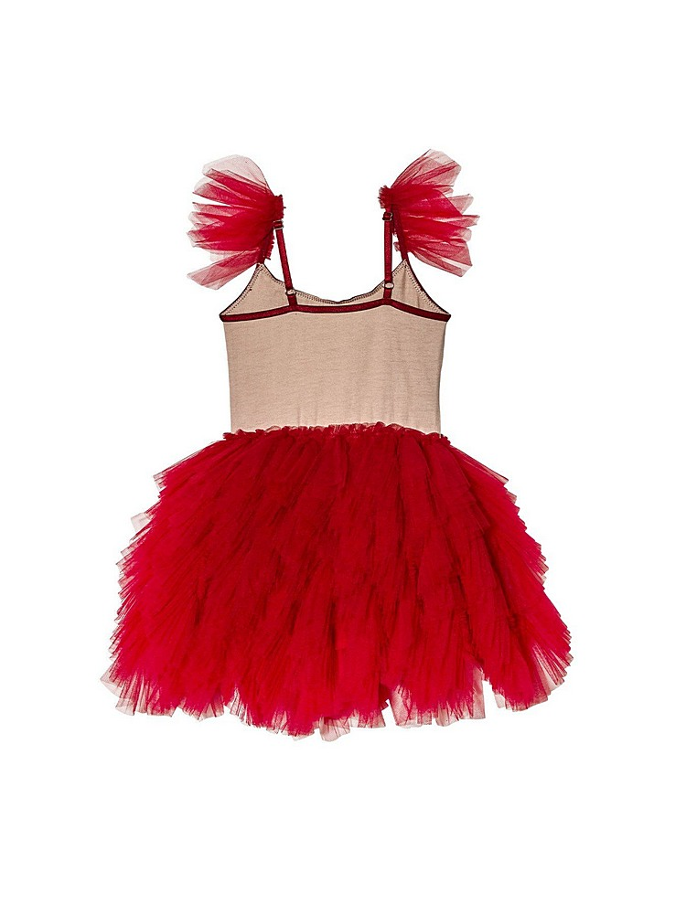 TDM7058 / RED / HALLOWEEN BEBE BLOOD THIRSTY TUTU DRESS