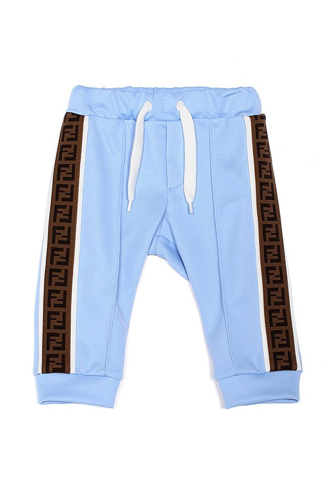 BUF030 A69D / F1BUC BLUE / Track Pants With Side Logo