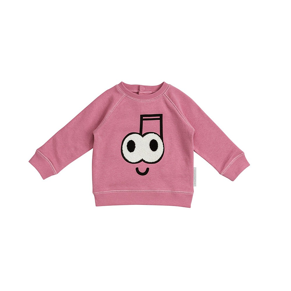 601056 SPJ99 / 5661 PINK / Baby Girl Music Note Sweatshirt
