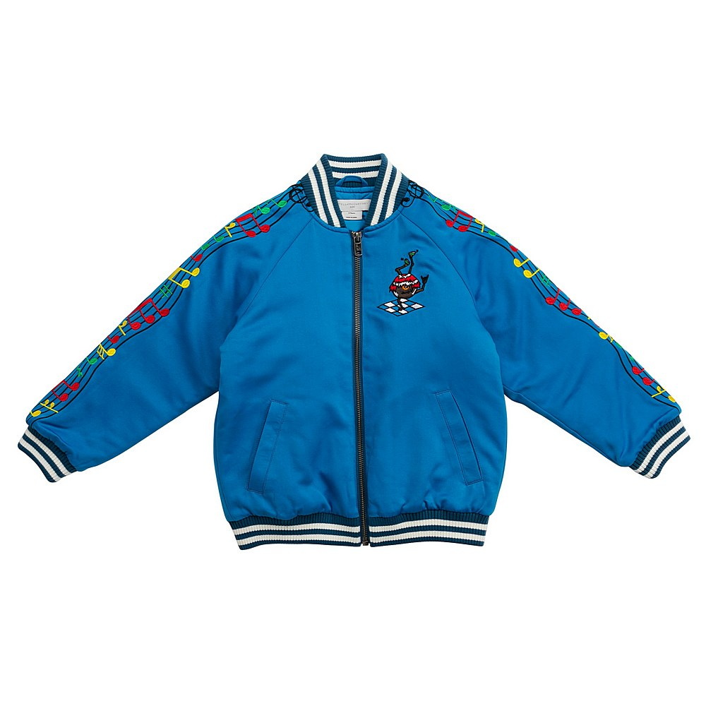 601417 SPK51 / 4011 BLUE / Kid Boy Music Note Bomber
