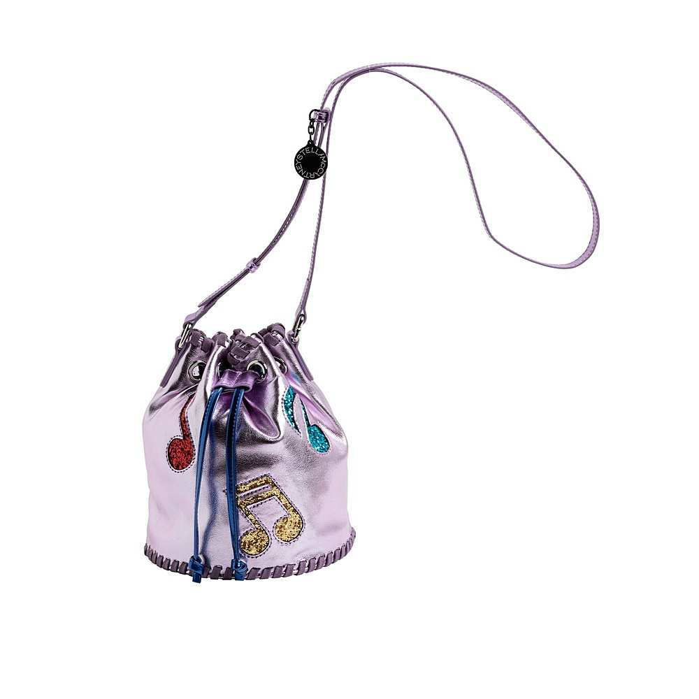 601365 SPK43 / 5566 PINK / Bucket Bag With Music Note