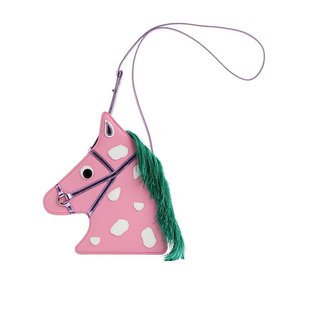 601363 SPD18 / 5708 PINK / Horse Shoulder Bag