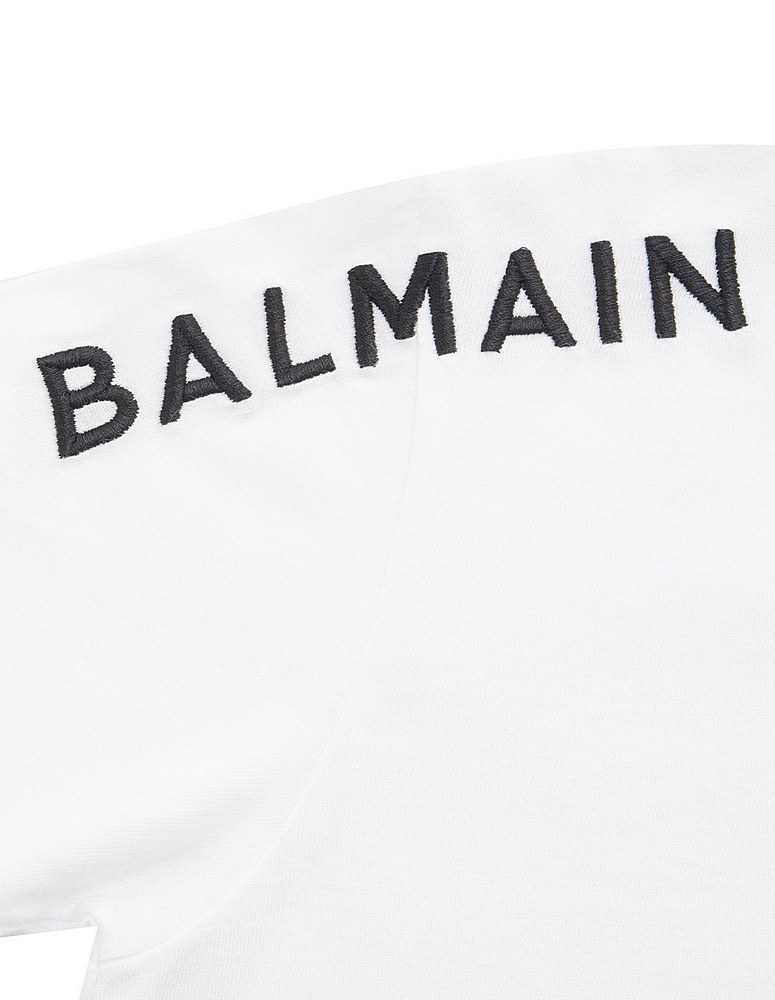 6N8531 NX330 100NE WHT/BLK TEE SHIRTS BLACK WHITE TOPS BALMAIN