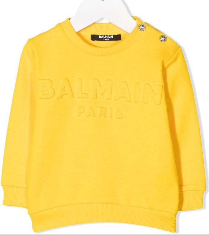 6N4840 NX300 / 201 YELLOW / Baby Sweatshirt W/Embossed Logo