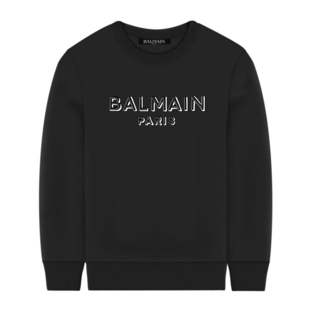 6N4640 NX300 / 930 BLACK / Sweatshirt W/Embroidered 3d Logo Mini Me