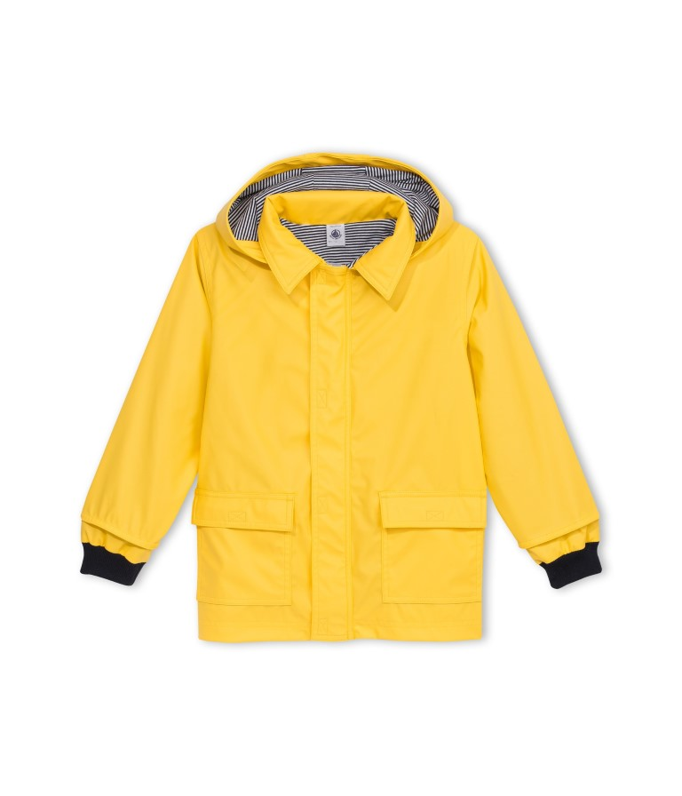 12570 / 68 YELLOW / Hooded Classic Raincoat