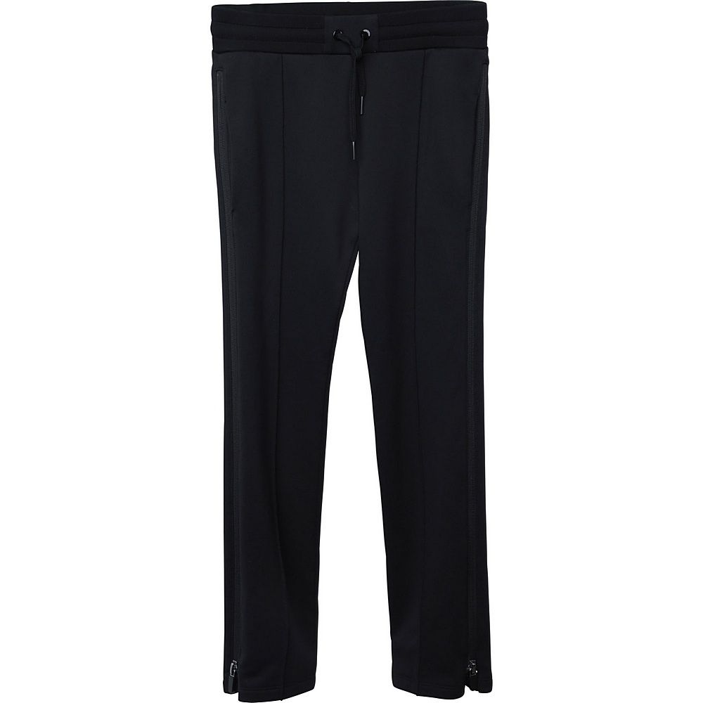 H14103 / 09B BLACK / GIRLS TROUSERS ZIPPED DETAILS ON SIDE