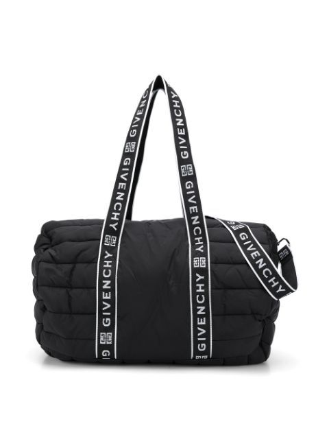 H90066 / 09B BLACK / Nylon Changin Bag Handles With Logo