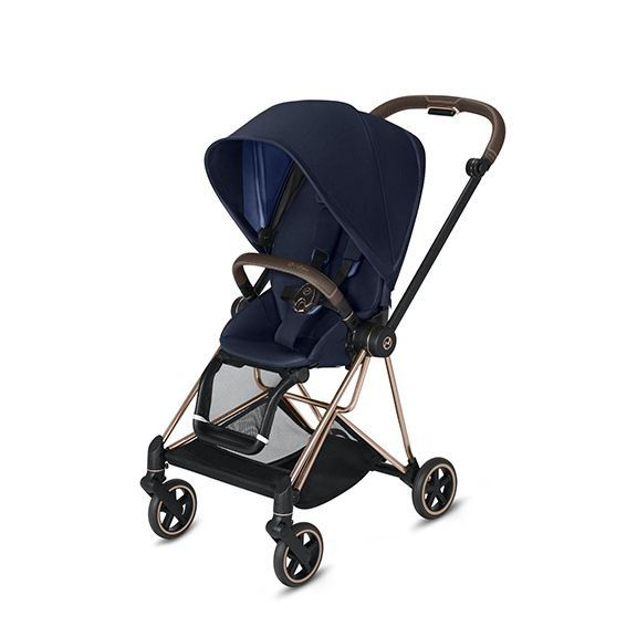 519003369 / INDIGO BLUE / Mios 2 Rose Gold Frame + Seat Complete