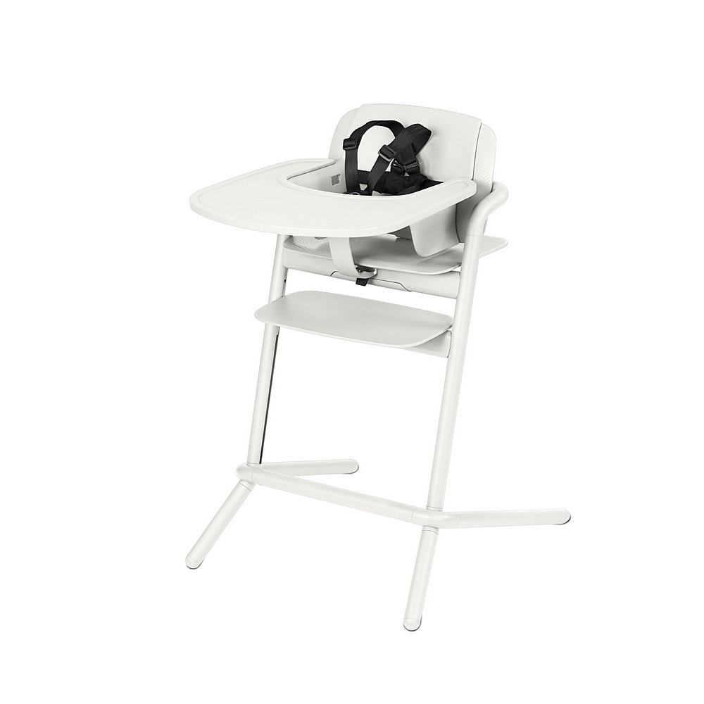 518002285 / PORCELAIN WHITE / CYBEX Lemo Highchair - Porcelain White