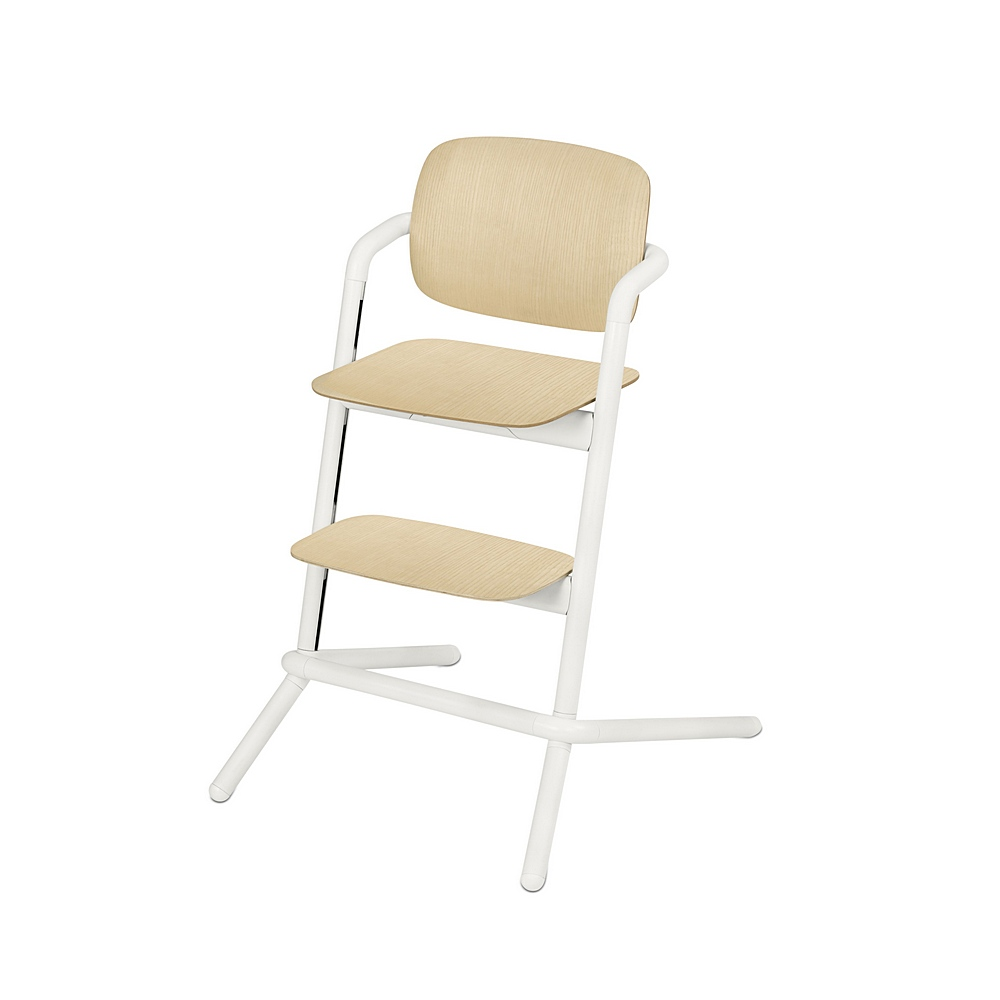 518002365 / PORCELAIN WHITE / CYBEX Lemo Highchair Wood - Porcelain White