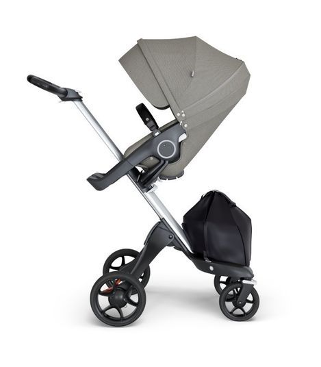 180211 / BRUSHED GREY / STOKKE XPLORY 6 Strollers