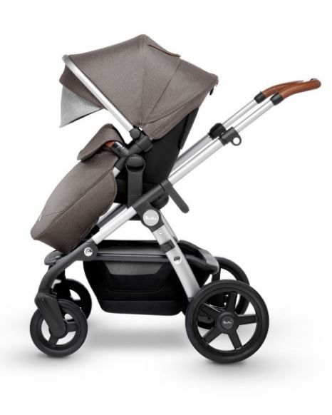SX21703.SBUS / SABLE / 2019 Silver Cross Wave Stroller - SABLE