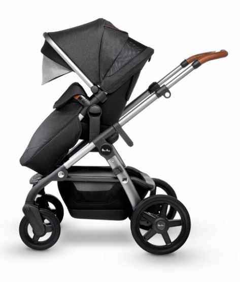 SX2170.GRUS / GRANITE / 2019 Silver Cross Wave Stroller - GRANITE