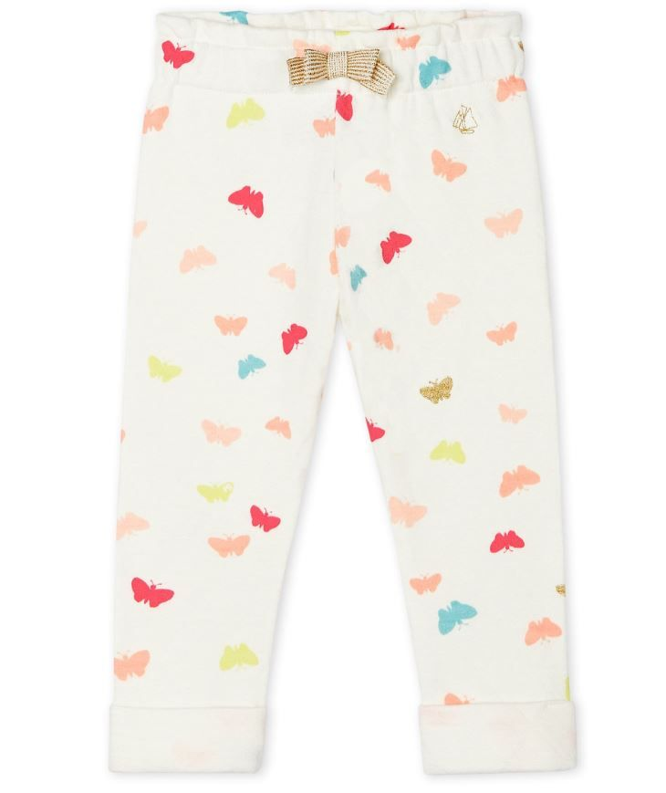 52849 / 01 WHITE MULTI / PRINTED PANTS