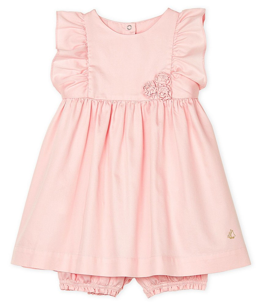 52936 01 PINK PETIT BATEAU DRESS