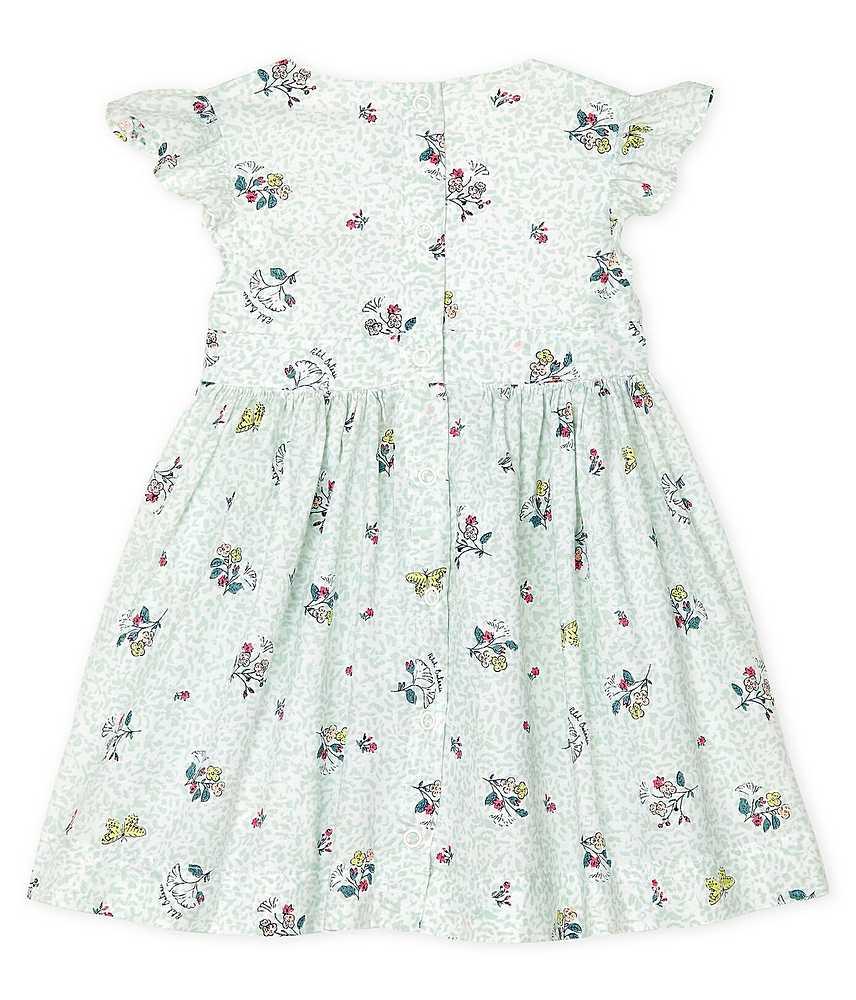 53437 / 01 WHITE MULTI / FLORAL SLEEVELESS DRESS