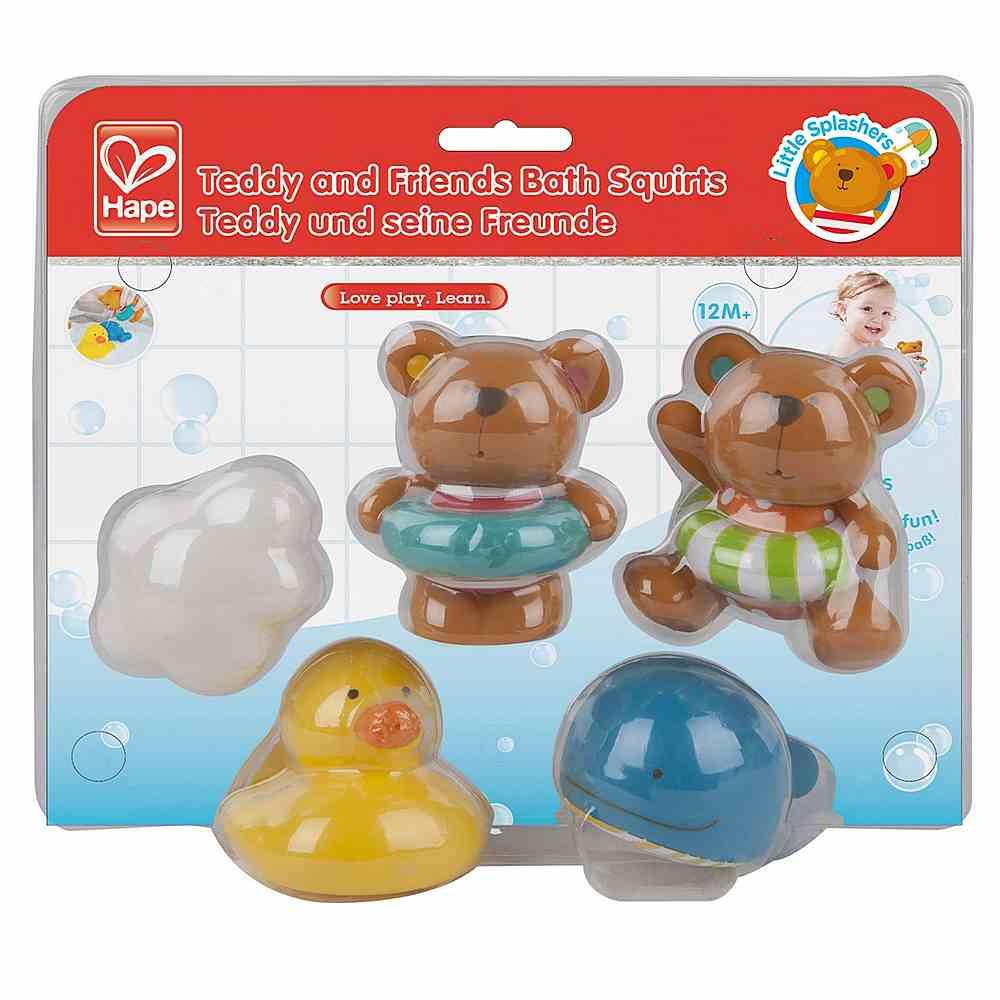 E0201 / 1 MULTI / TEDDY & FRIENDS BATH SQUIRTS