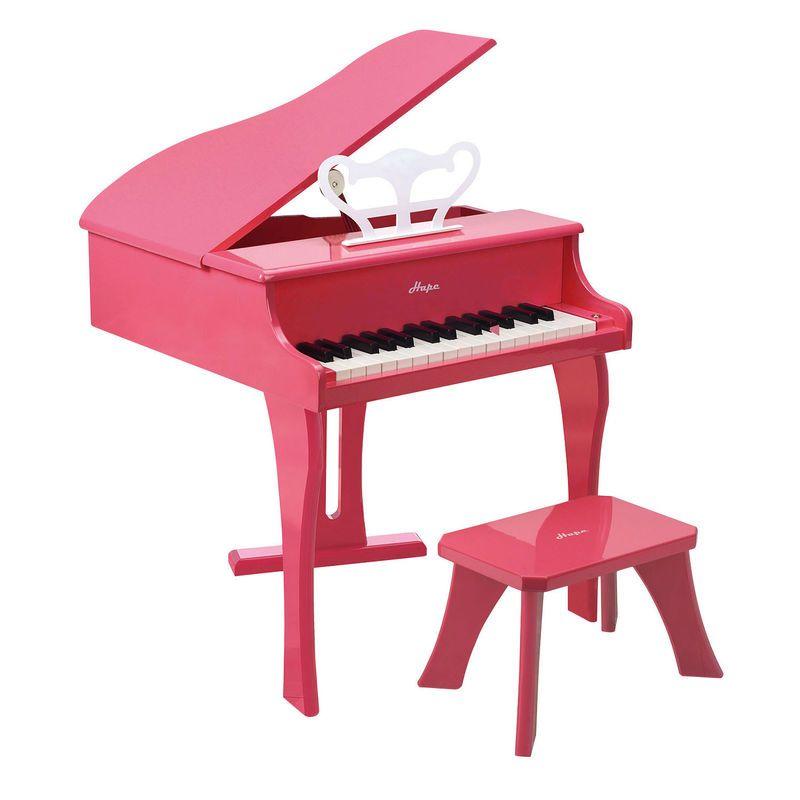 E0319 / 3+ YEARS / HAPE HAPPY GRAND PIANO - PINK