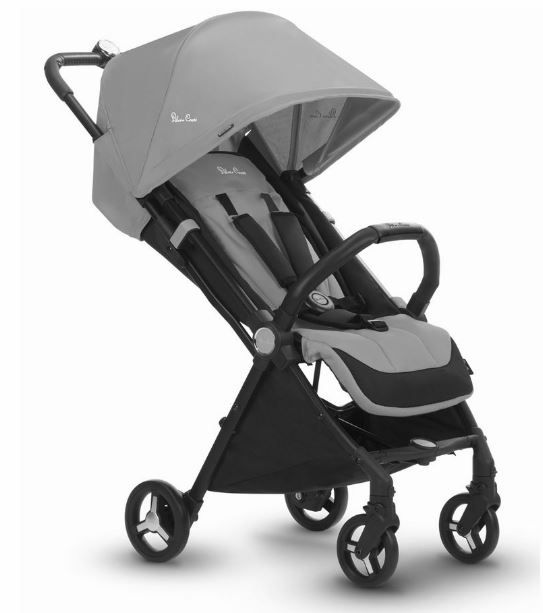 SX2141 / STERLING.SILVER / Jet Ultra Compact Stroller