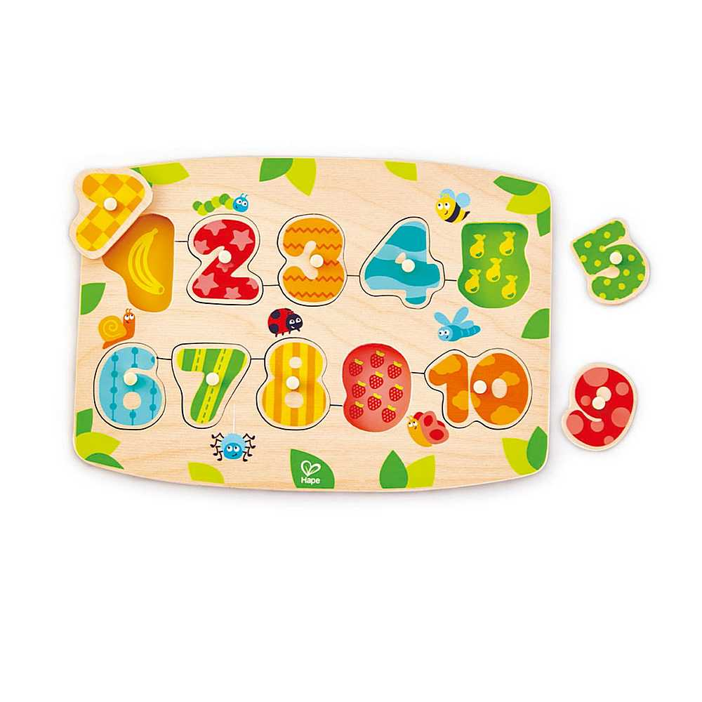 E1404 / 1 MULTI / NUMBER PEG PUZZLE