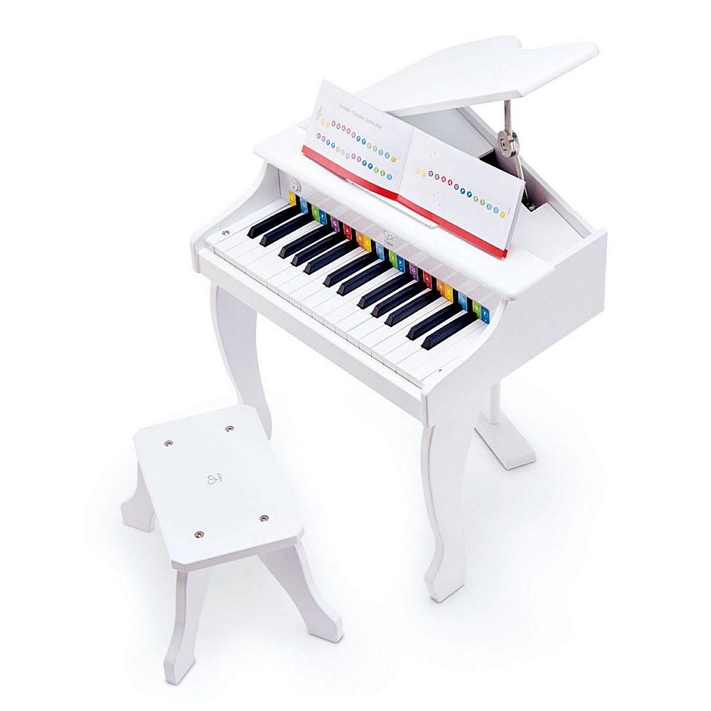 E0338 / 1 WHITE / HAPE DELUXE GRAND PIANO