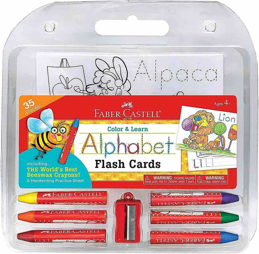 14330 / MULTI / COLOR & LEARN ALPHABET FLASH CARD