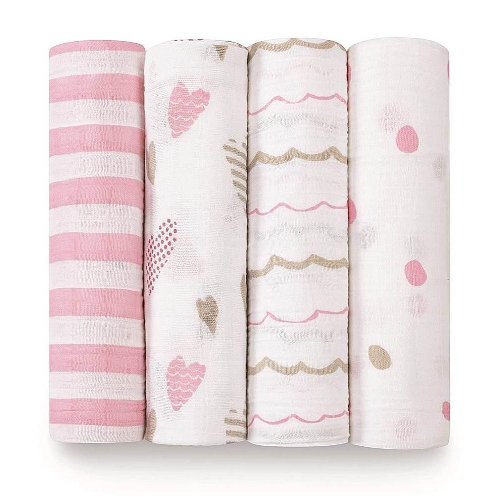 2045 / HEART BREAKER / ADEN & ANAIS CLASSIC SWADDLE - 4 PACK