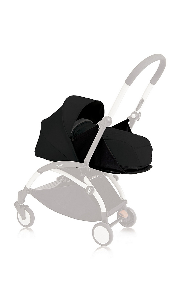 US10107-05 / BLACK / YOYO+ 0+ Newborn Pack Black