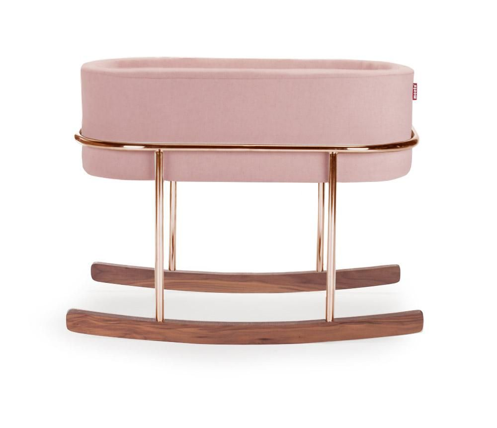 ROCKWELL COPPER / BLUSH VELVET / ROCKWELL BASSINET- COPPER BASE